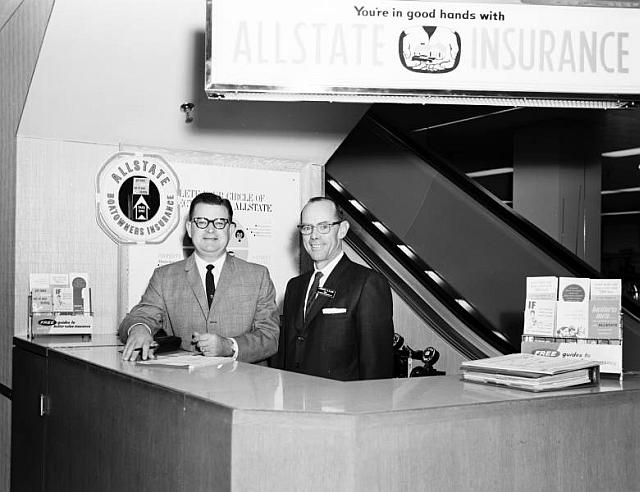 Allstate Insurance, March 10, 1964 at Sears Roebuck and Co. at 21st and Yale