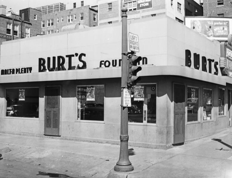 Burt's, courtesy of the Beryl Ford Collection/Rotary Club of Tulsa