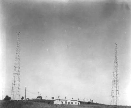 KVOO transmitter site atop Reservoir Hill (Apache & N. Denver) in 1926