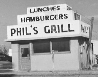 Phil's Grill, courtesy of the Beryl Ford Collection/Rotary Club of Tulsa