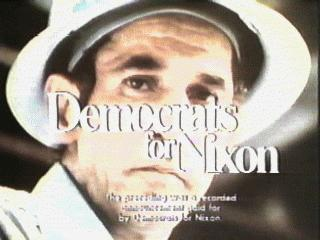 Democrats for Nixon, courtesy of Mike Bruchas