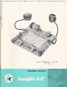 Knight Kit 21-in-1 electronics lab manual, found on eBay
