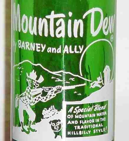 Mountain Dew close-up