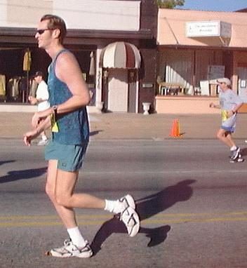 Tulsa Run 2001, photo by Gaye Brown