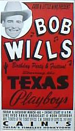 Bob Wills at the Cain's