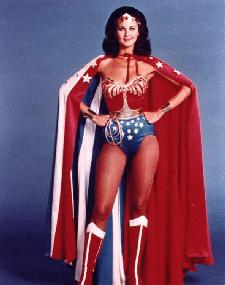 The pulchritudinous Wonder Woman