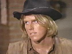 Gary Busey on Bonanza, courtesy of Mike Bruchas