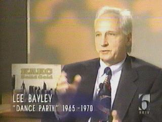Lee Bayley on the KOTV 50th anniversary show, 1999, with the KAKC album