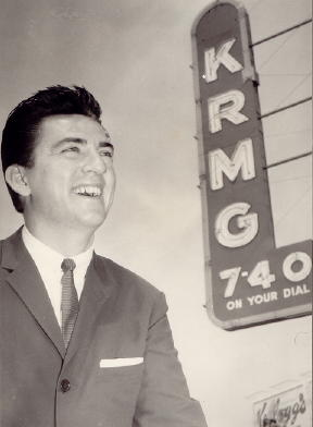 Marvin McCullough at KRMG, courtesy of Scott Evans
