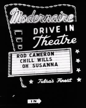 The Modernaire, later the Admiral Twin Drive-In (courtesy of Wes Horton)