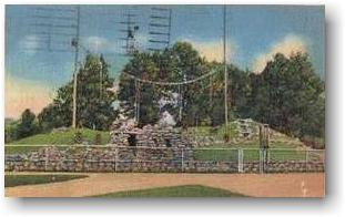 Monkey Island at the Tulsa Zoo in the 30s