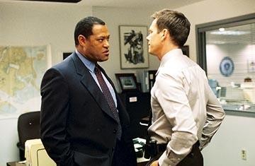 Lawrence Fishburne and Kevin Bacon