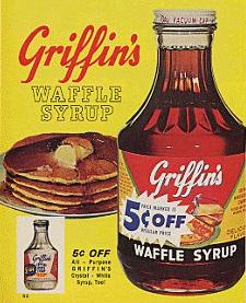 1965 Griffin's syrup ad
