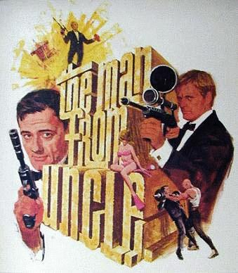 1966 NBC UNCLE promo poster