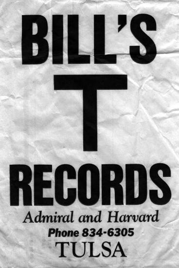 Bill's T Records bag, courtesy of Mitchell Holt