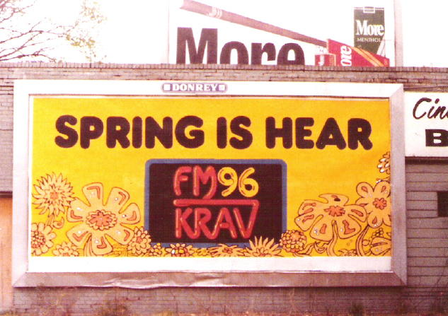 KRAV billboard, courtesy of Dennis Yelton