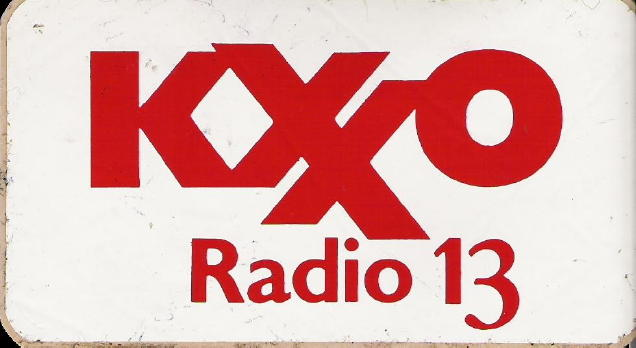 KXXO sticker, courtesy of Dennis Yelton