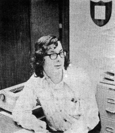 Stacy Richardson in late 1973