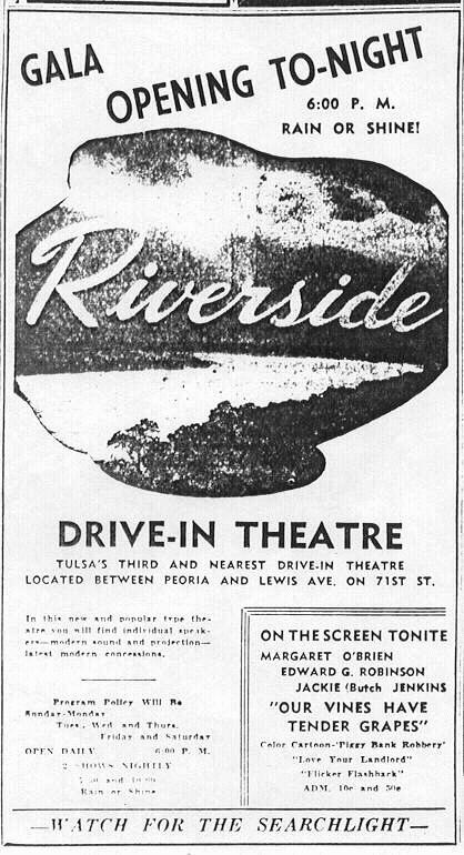 Riverside Drive-In (courtesy of Wes Horton)