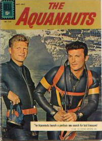The Aquanauts, starring Jeremy Slate as Larry Lahr, Keith Larsen as Drake Andrews and Ron Ely as Mike Madison