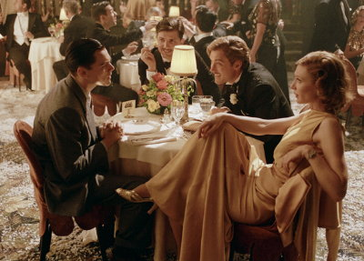 Leonardo DiCaprio, Adam Scott, Jude Law and Cate Blanchett  in 'The Aviator'
