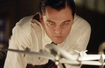 Leonardo DiCaprio as Howard Hughes