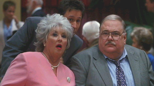 "Gailard Sartain and Paula Deen in ""Elizabethtown"""