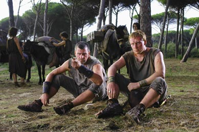 Lucius Vorenus and Titus Pullo