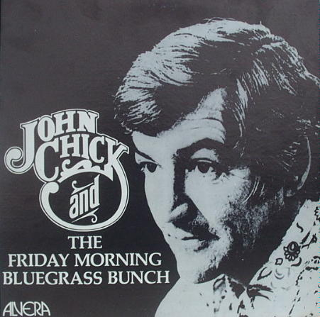 LP album from the John Chick Show recorded at Channel 8, April 1974, courtesy of Joel Burkhart