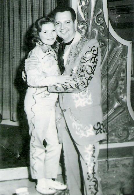 Janeese with Hank Thompson