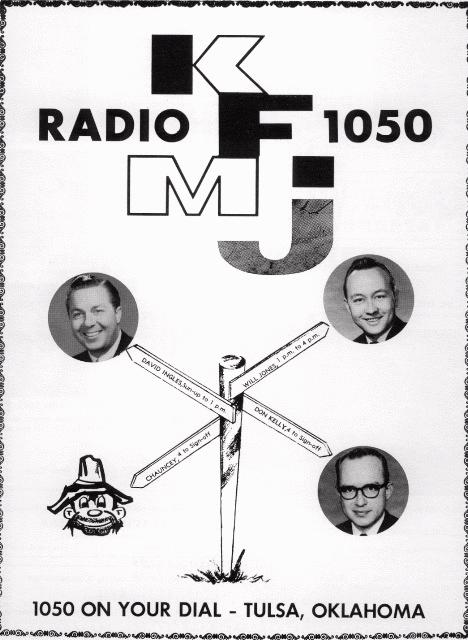 KFMJ DJs, courtesy of Joel Burkhart
