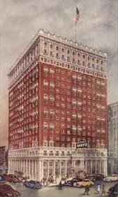 The Mayo Hotel in downtown Tulsa