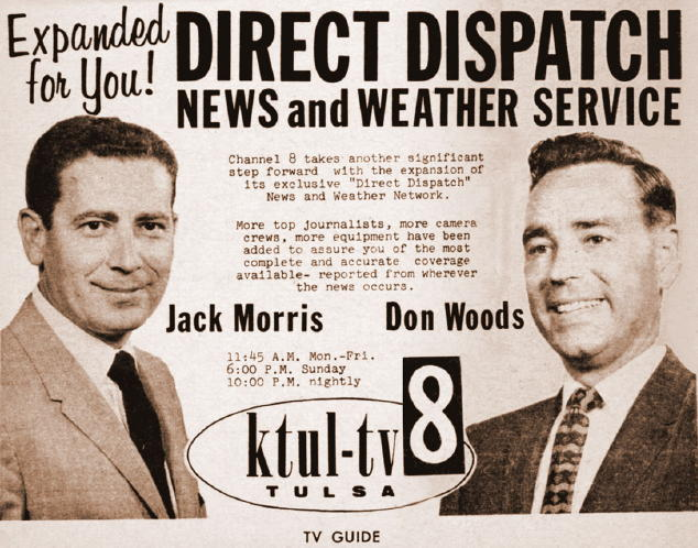 Jack Morris and Don Woods from 1959 TV Guide, courtesy of Ed Colton