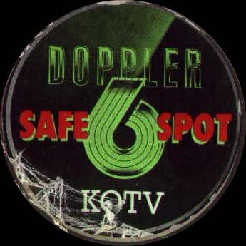 KOTV Safe Spot sticker