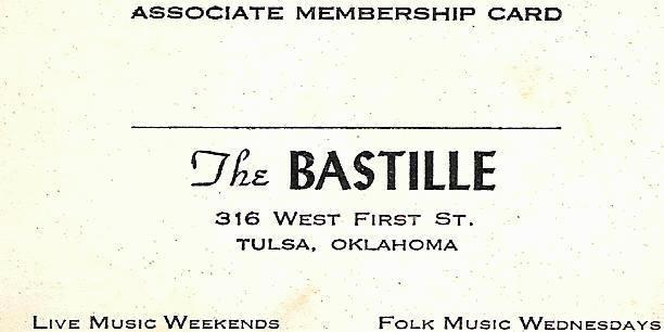 Bastille membership card, courtesy of Armin Sebran