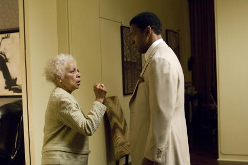 Ruby Dee and Denzel Washington