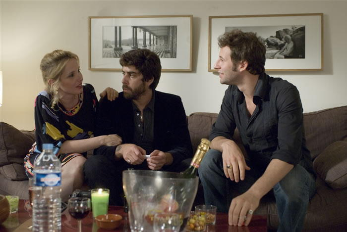 Delpy, Goldberg and an ex