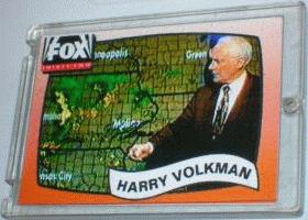 Harry Volkman trading card