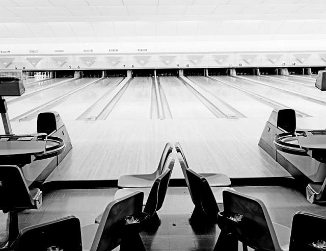 Bowling alley from the Beryl Ford Collection