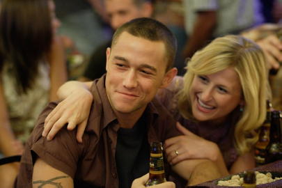 Joseph Gordon-Levitt and Mamie Gummer