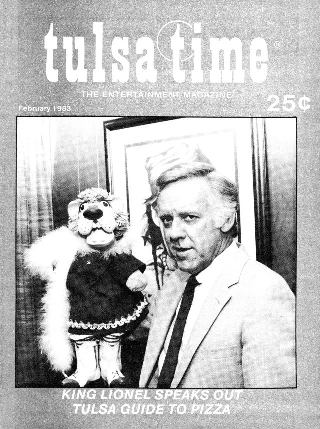 Tulsa Time cover, Feb. 1983, courtesy of Roy Payton