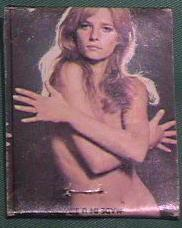 Charlotte Rampling on Massad's matchbook