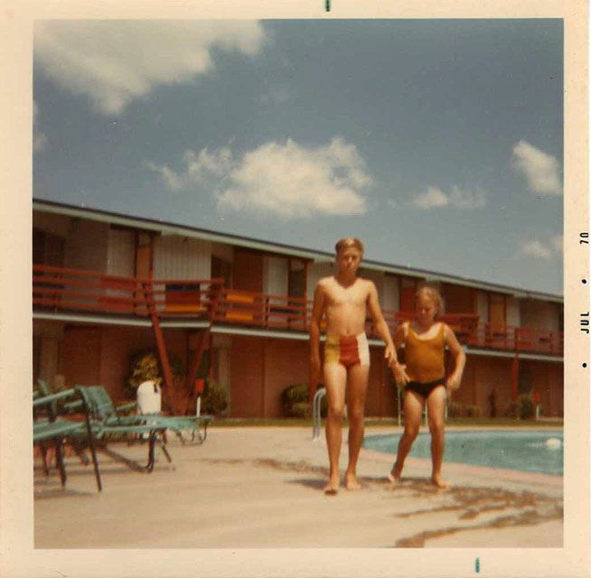 Tradewinds West pool, 1970