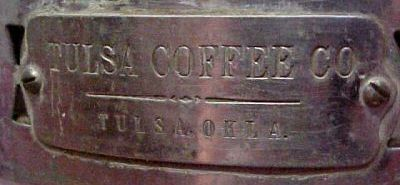 Old Tulsa Coffee Co. urn