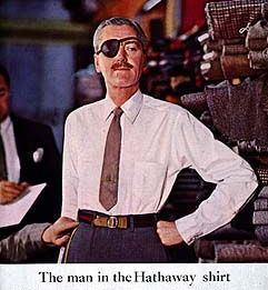 The Hathaway shirt man