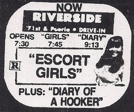 Final ad for the Riverside, Nov 30, 1977, courtesy of Wesley Horton
